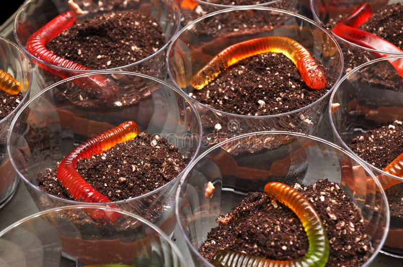 Dirt and Worms Desert royalty free stock photos