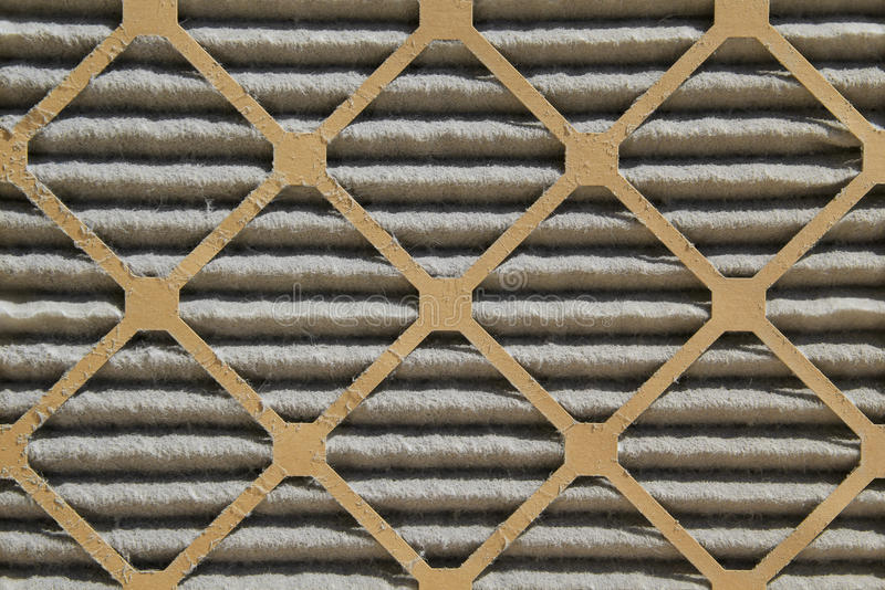 Dirty air filter royalty free stock images