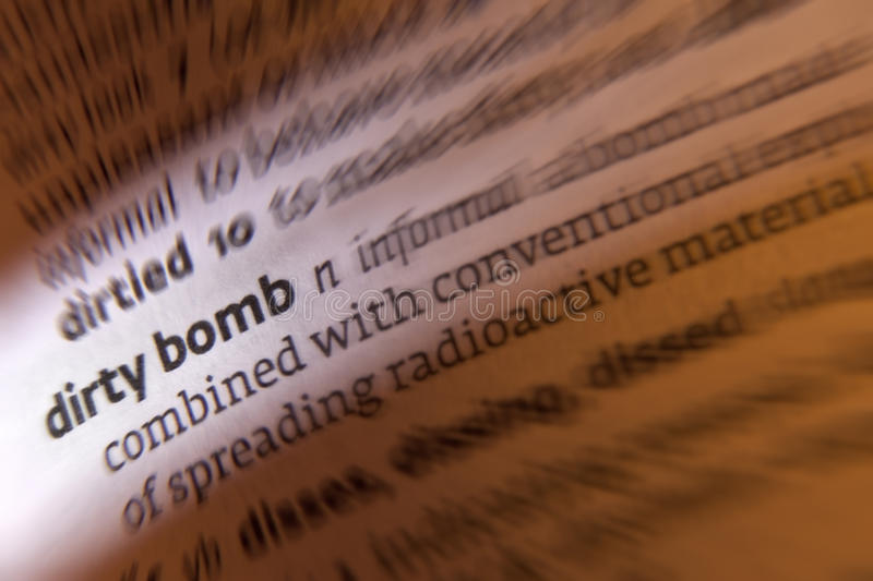 Download Dirty Bomb - Terrorism stock photo. Image of explode - 22492164