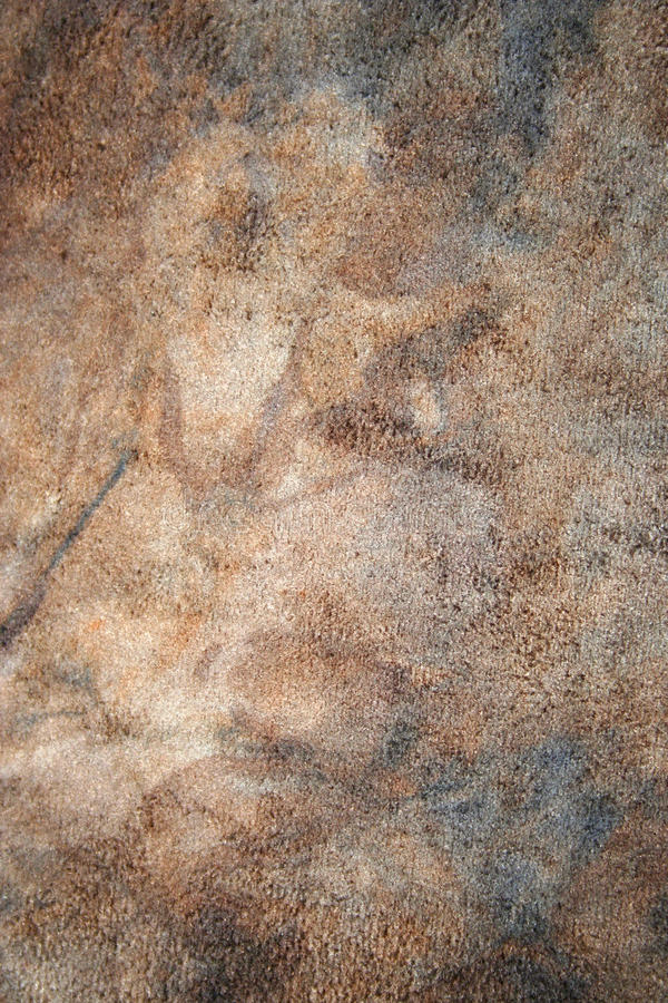 Dirty brown color fabric. As background royalty free stock image