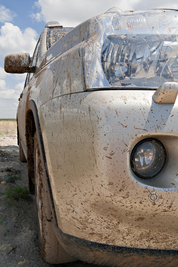 Dirty car royalty free stock image
