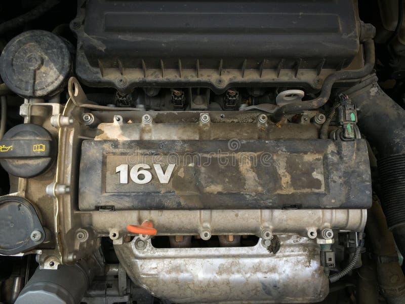 Dirty engine royalty free stock photos