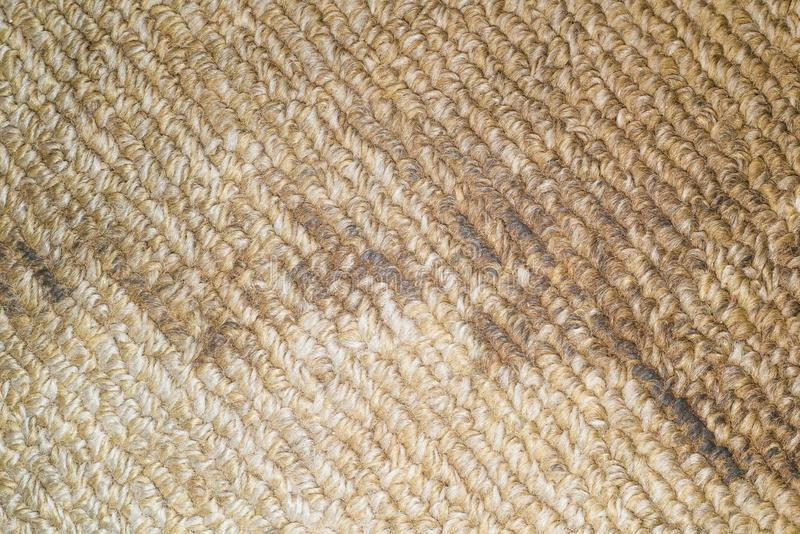 Dirty floor carpet in the hotel close up royalty free stock photos