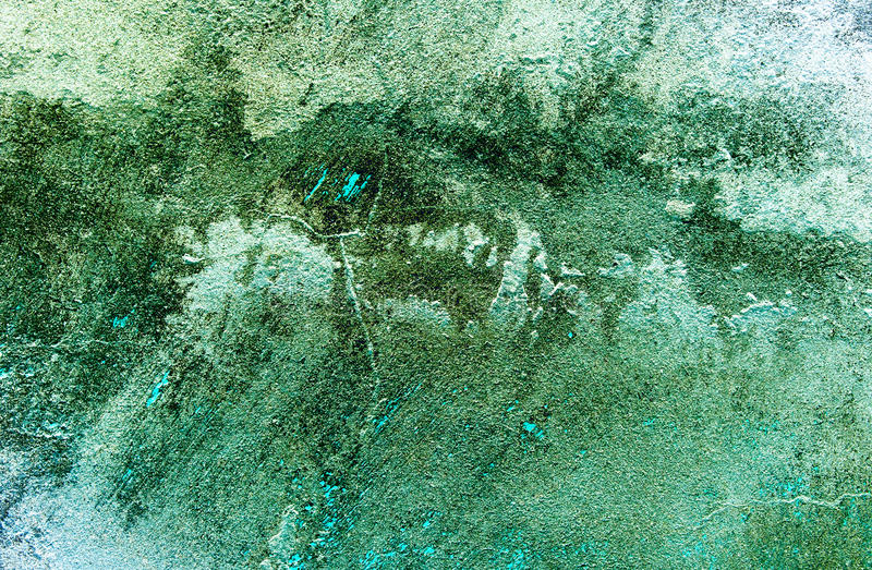 Dirty grey-blue old abstract background. royalty free stock photos