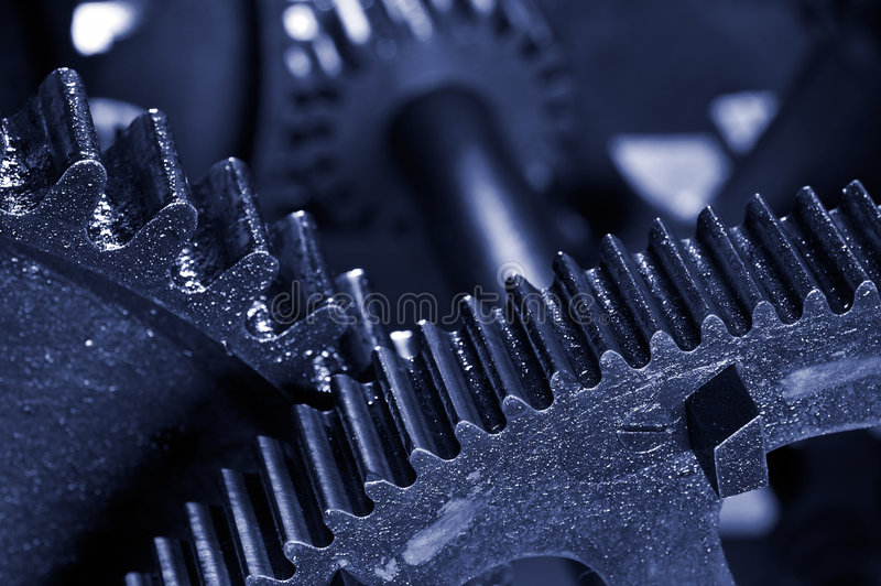 Download Dirty Industrial Gears Background Stock Image - Image: 1702345