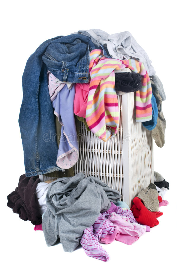 Download Dirty Laundry stock photo. Image of locker, pile, heap - 7681630