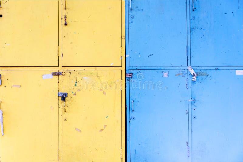 Dirty Locker in soft light stock photos