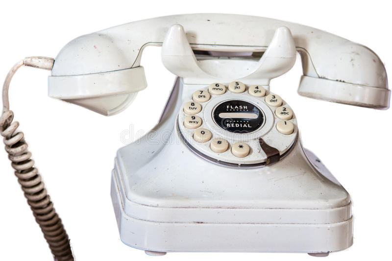 Download Dirty Old Phone stock image. Image of retro, call, isolated - 27446925