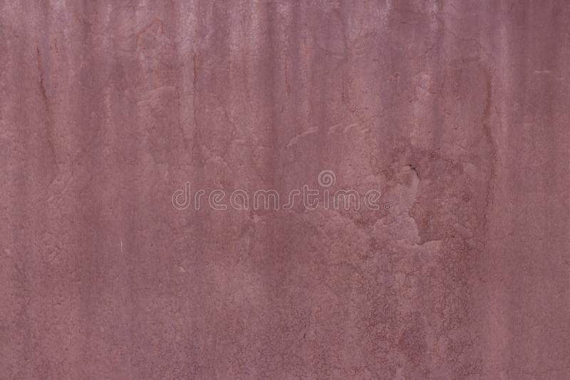 Dirty old vintage red wood scratch wall texture background stock image
