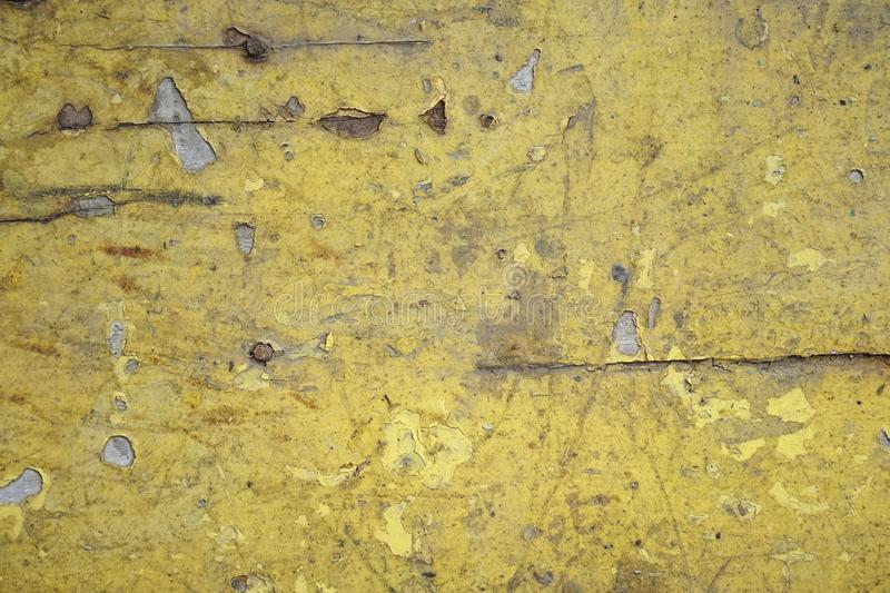 Dirty old yellow wood background. texture of wood use as natural background royalty free stock photo