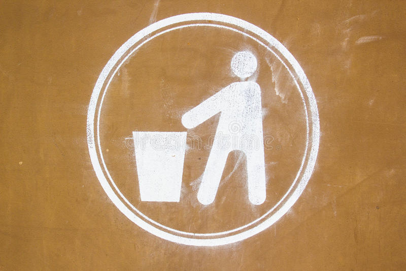 Download Dirty recycling sign stock photo. Image of pollution - 25982124
