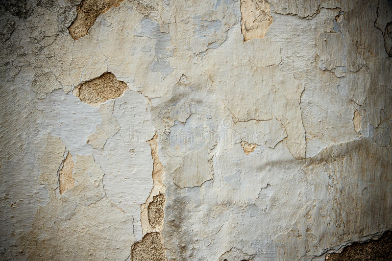 Dirty, scratched old brick wall. As background stock photography