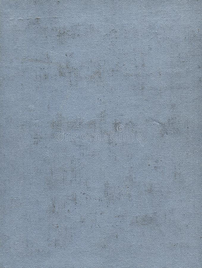 Dirty and scratched old light gray cloth book cover. Background royalty free stock images
