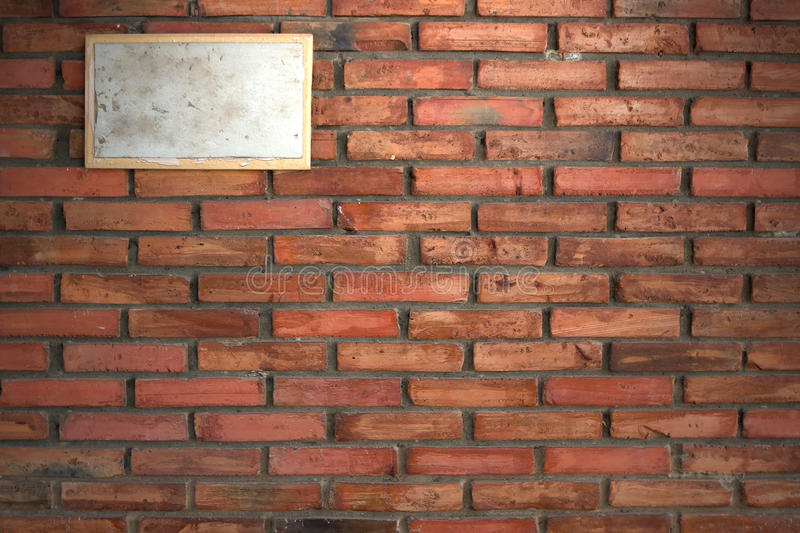 Download Dirty Sign On Old Brick Wall Stock Image - Image of wall, wallpaper: 30807321