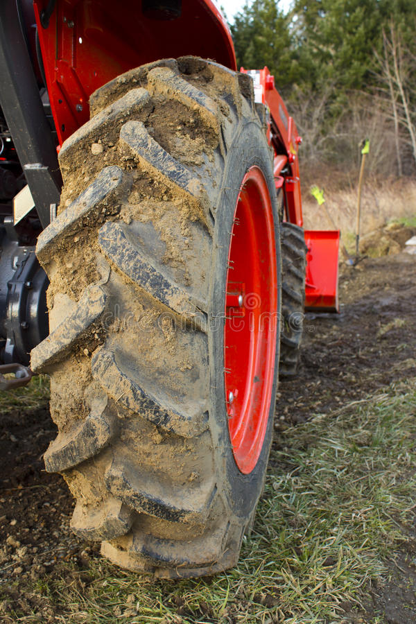 Download Dirty Tractor Tire stock image. Image of tire, wheel - 23549589