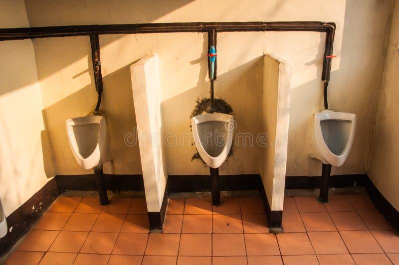 Dirty Urinals Stock Photo Image 61325269