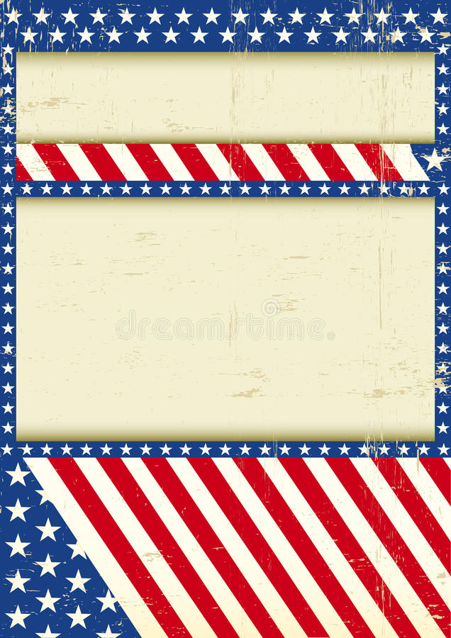 Dirty USA background stock photos