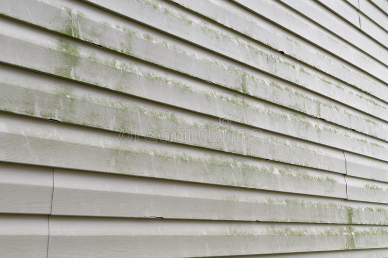 Download Dirty Vinyl Siding Needs Power Washing Stock Image - Image: 26760073
