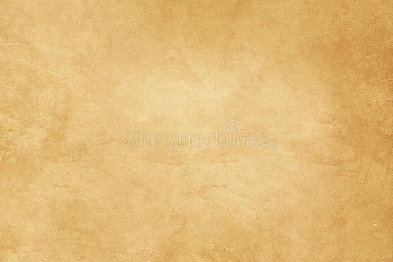 Old paper texture. Dirty and yellowed old paper texture for background