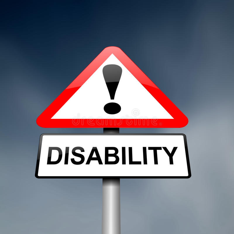 Download Disability awareness. stock illustration. Illustration of disabled - 24769450
