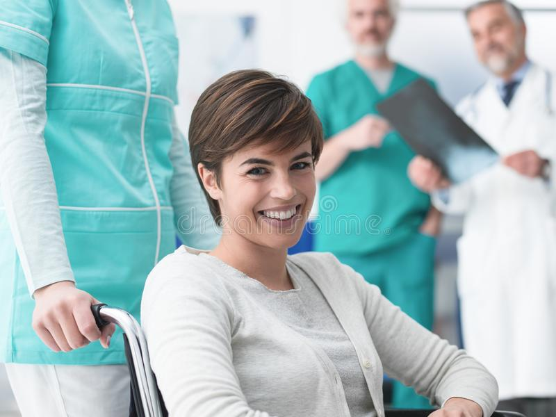 Disability and healthcare royalty free stock image