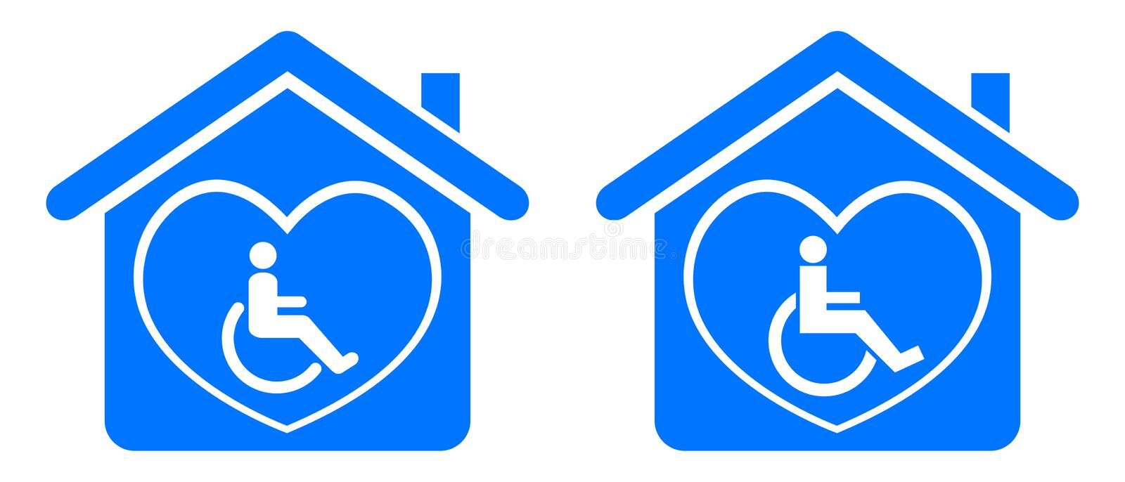 Disable home stock illustration