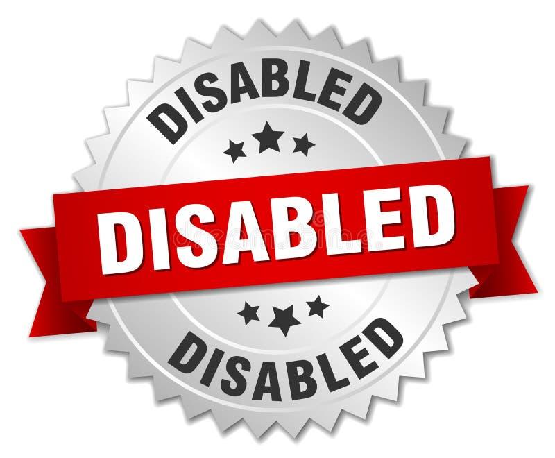 disabled ilustração stock