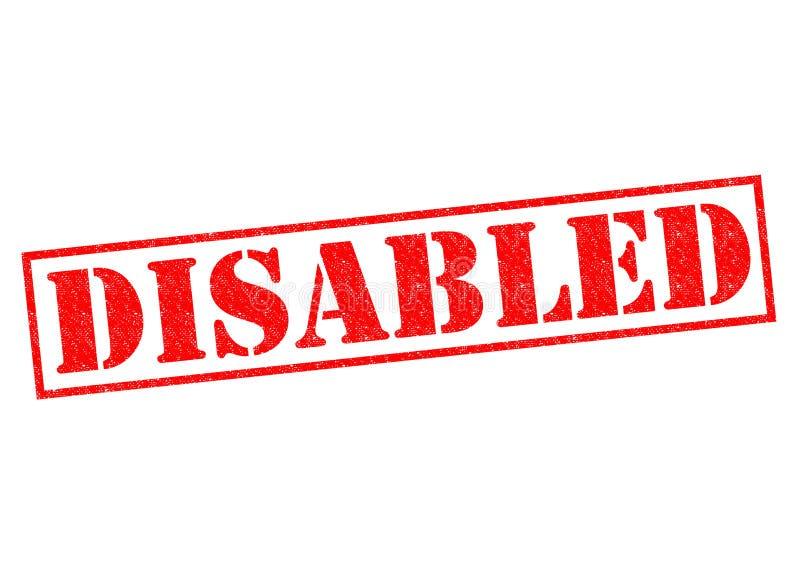 disabled στοκ φωτογραφία