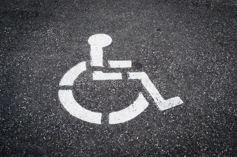 Disabled Icon Royalty Free Stock Images