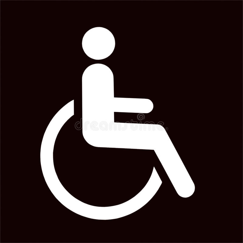 Download Disabled Icon Sign Stock Image - Image: 25422591
