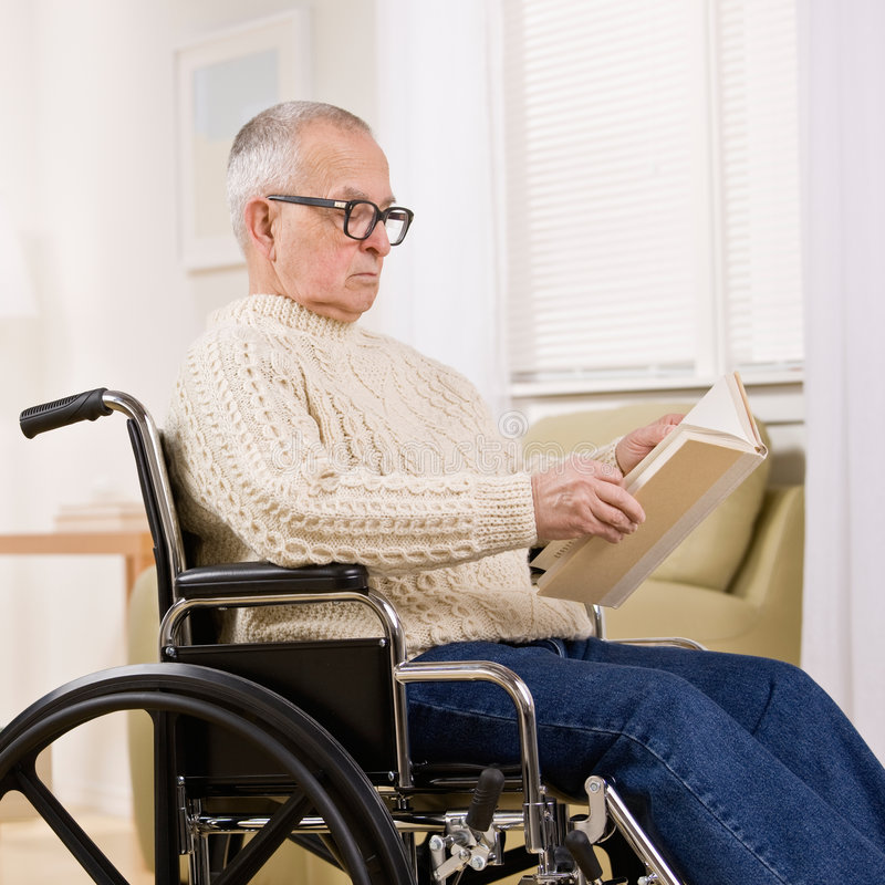 Download Disabled Man In Wheelchair Stock Image - Image: 6599371