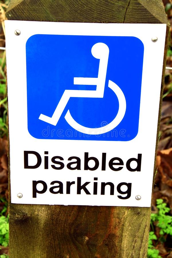 Download Disabled parking stock photo. Image of chair, human, autos - 26329044