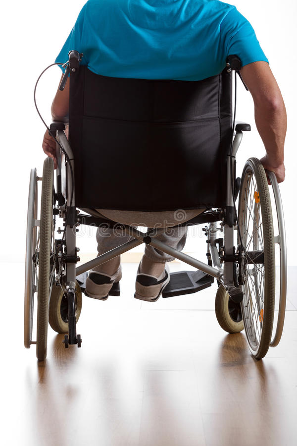 Disabled patient stock images