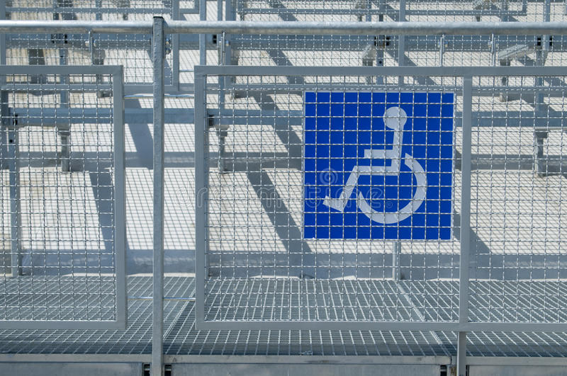 Disabled People Auditorium Sector Royalty Free Stock Photos
