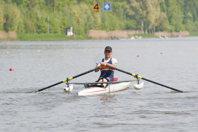 Download Disabled Rower stock photo. Image of strong, stroke, rowing - 19430934