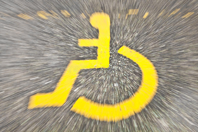 Download Disabled sign stock image. Image of movement, reserved - 20556895