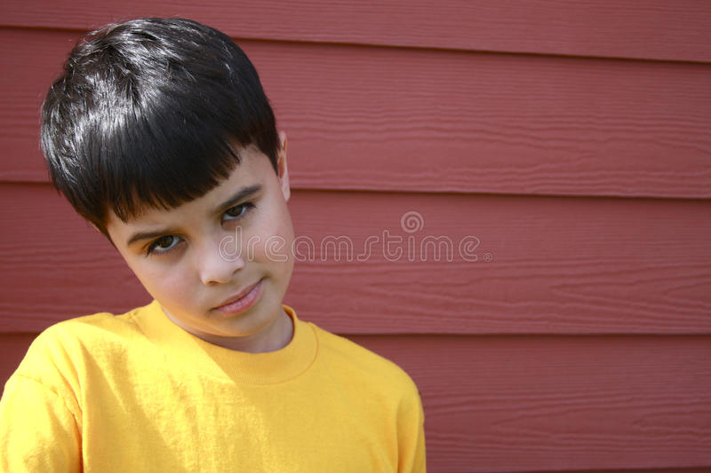 Download Disappointed Boy stock image. Image of children, colors - 14109641