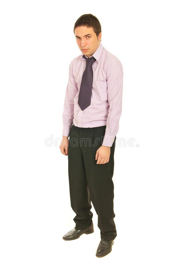 Disappointed business man royalty free stock images