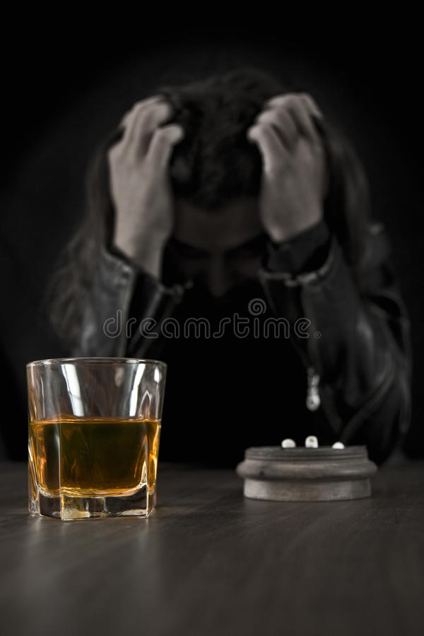 Download Disappointed Man stock image. Image of image, dark, sadness - 23872199