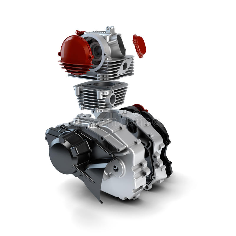 Free Disassembled Motorcycle Engine Stock Photos - 27446693