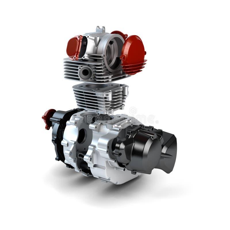 Free Disassembled Motorcycle Engine Royalty Free Stock Photo - 27446695