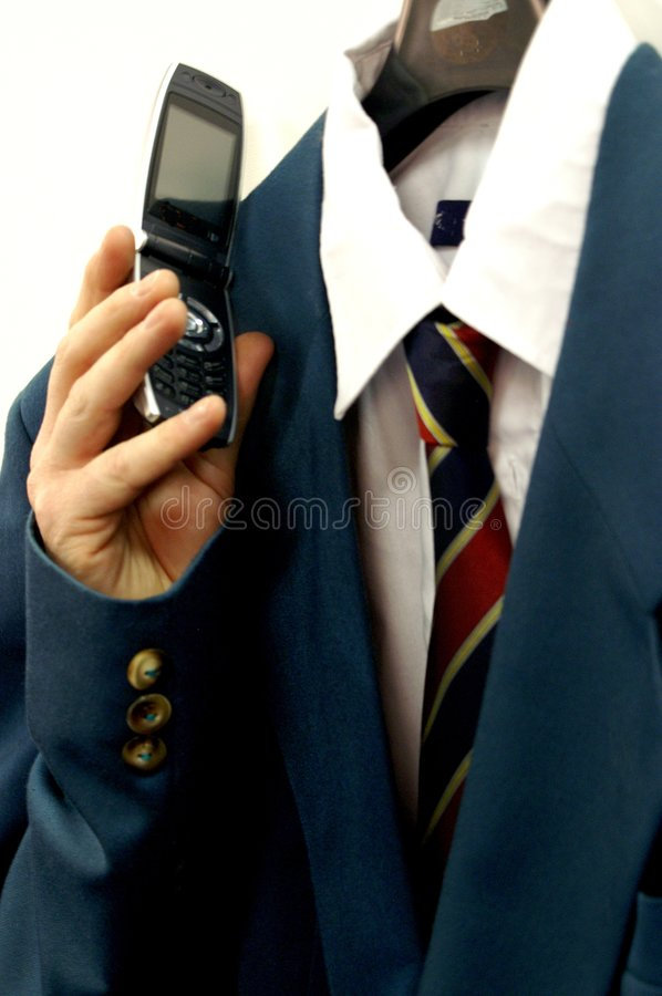 Disassociated caller royalty free stock photo