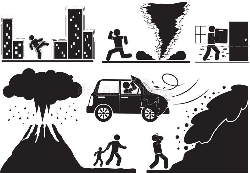 Disaster stock illustration