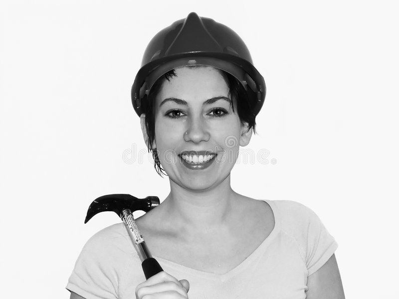 Download Disastre #5 de Diy foto de stock. Imagem de hardhat, parede - 61988