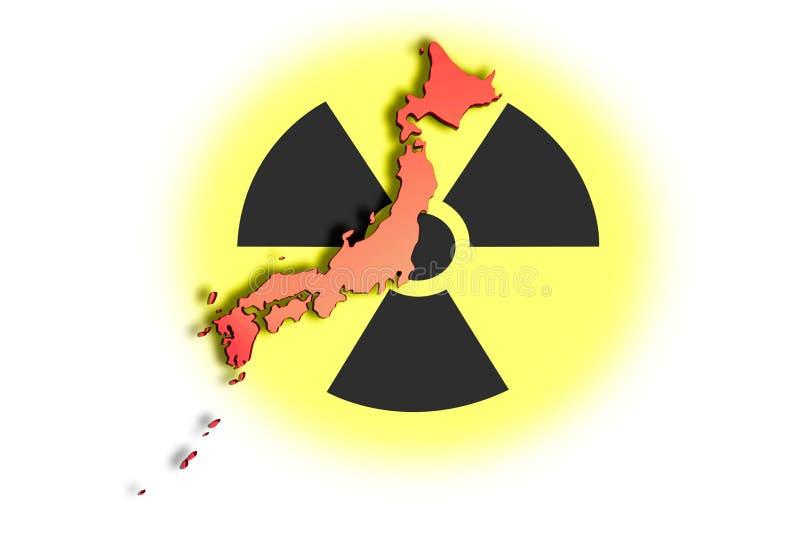 Disastre nuclear 01 de Japão fotos de stock royalty free