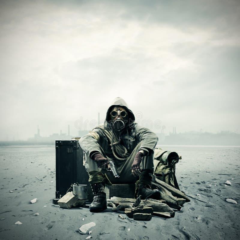 Disastro ambientale immagine stock