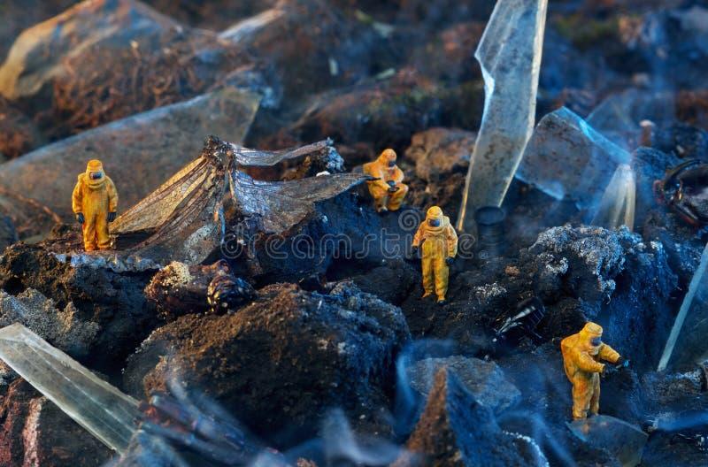 Disastro ambientale fotografia stock libera da diritti