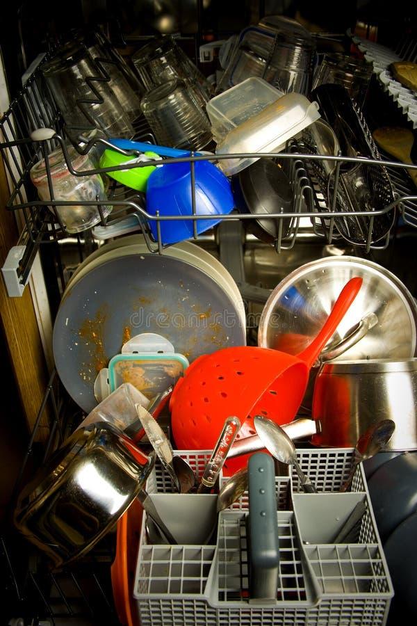 Disatser de la cocina imagen de archivo libre de regalías