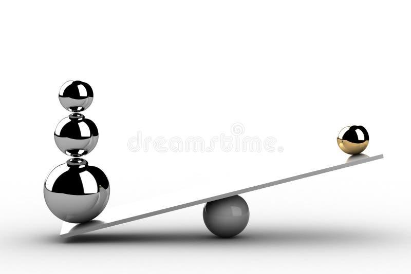 Disbalance libre illustration