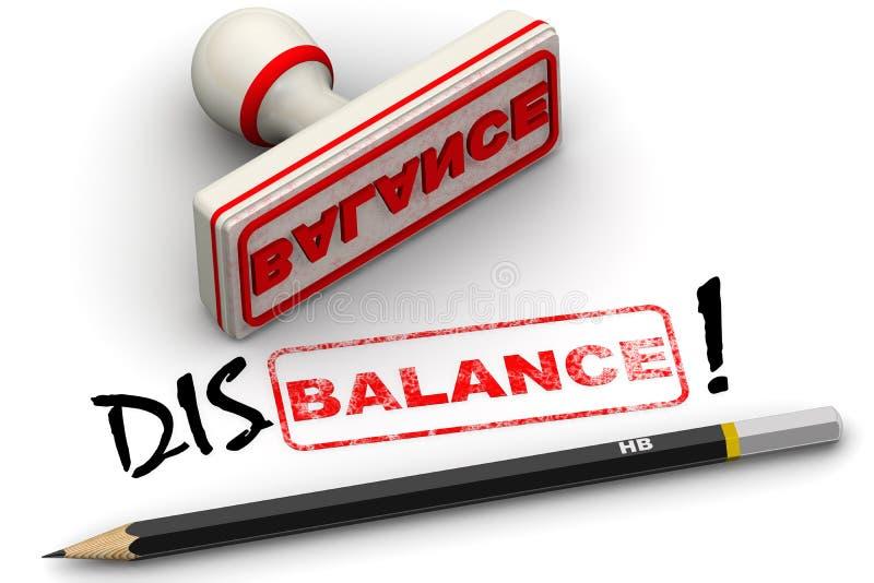 Download Disbalance! Corrected Seal Impression Stock Illustration - Image: 83712707